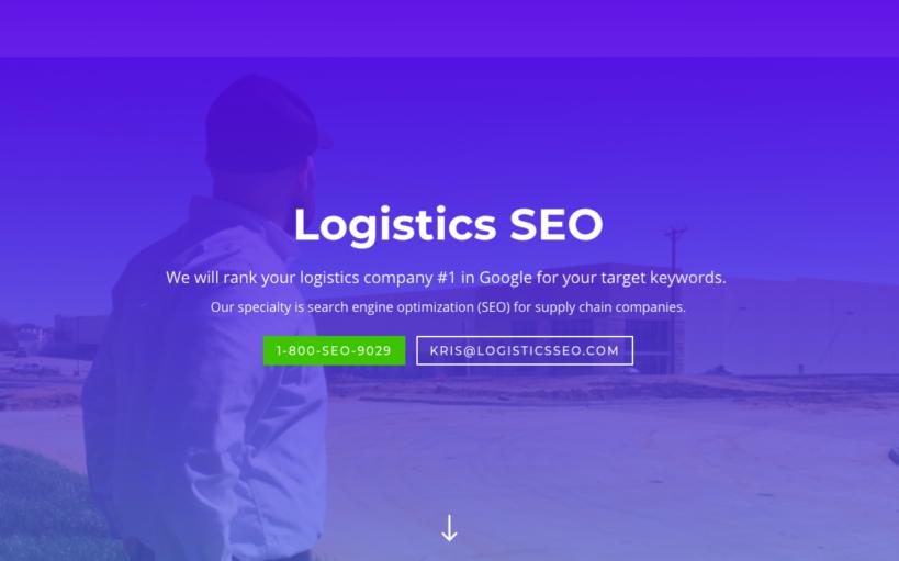 Logistics SEO